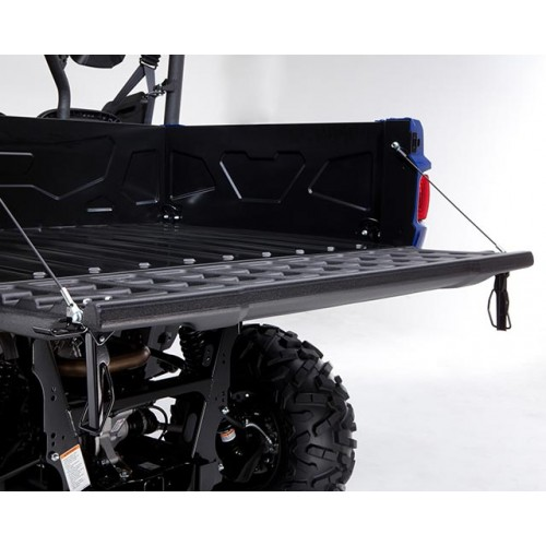 Pallet-sized rear cargo bed