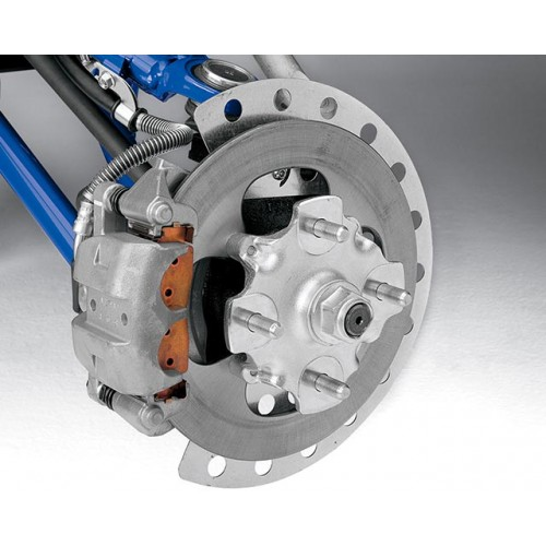 Powerful All-Wheel Disc Brakes